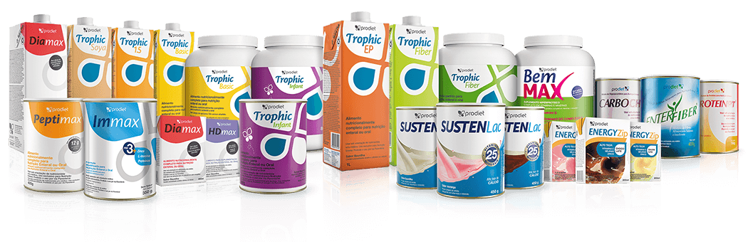 SPECIALISTS IN CLINICAL NUTRITION WITH A COMPLETE LINE OF PRODUCTS FOR SPECIFIC NEEDS.